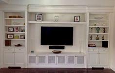 tv built in media wall in living rooms: charming breathtaking built in tv wall…