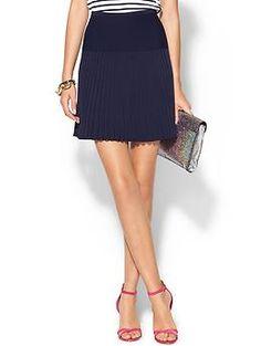 DvF Pleated Skirt | Piperlime