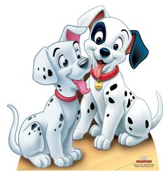 Dalmation Puppies - 101 Dalmations Lifesize Cardboard Cutout / Standee