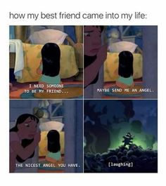 I don't have friends but if I ever have one this is how I imagine it going down