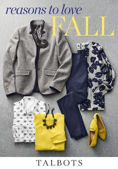From cozy sweaters to stylish ankle boots to lush layers, here are the have-to-have pieces of the season. Shop now exclusively at Talbots. Mode Outfits, Chic Outfits, Fashion Outfits, Womens Fashion, Trendy Outfits, Fashion Over 50, Work Fashion, Preppy Style, My Style