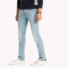 Image for Denton Straight Fit Stretch Jeans from TommyUK