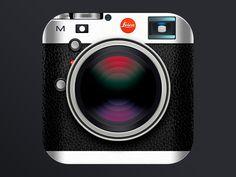 Leica Camera Icon - by Jackie Tran | #ui
