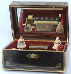 Image detail for -Vintage Pocket Watches - Unusual Automaton French Music Box - Pieces ...
