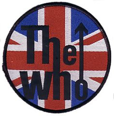 The Who official Patch measuring approx x featuring the Union Jack Flag Logo design Officially Licensed Merchandise See all The Who Band Band Patches, Pin And Patches, Sew On Patches, Jacket Patches, Flag Patches, Union Logo, Velcro Patches, Prince Purple Rain, Patch Design