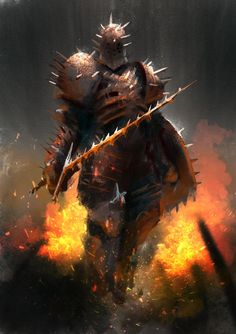 Knight of Thorns by Mac-tire on DeviantArt