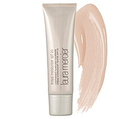 What it is:A color-tinted moisturizer with protective sunscreen.What it does:Laura Mercier Tinted Moisturizer is a sheer, lightweight formula with a hint of color you can use in place of foundation for a natural finish and a healthy glowing complexio