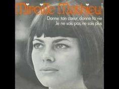 Mireille Mathieu - Donne Ton Coeur, Donne Ta Vie - YouTube
