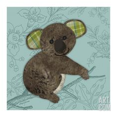 Bashful Bear Giclee Print by Morgan Yamada at Art.com