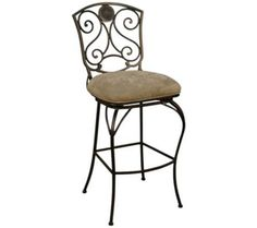 """American Heritage Canterbury Pepper 24"""" High Counter Stool 
