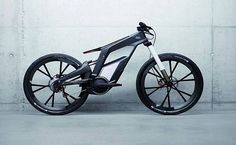 Bicicleta elétrica da Audi