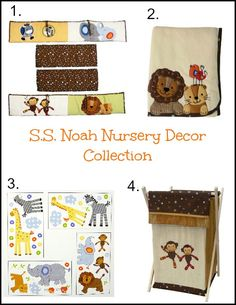 Lambs & Ivy - S. Noah - Noah's Ark Nursery Decor: here you have the matching blanket & hamper (sold seperately from crib/bedding set) Nursery Themes, Nursery Ideas, Nursery Decor, Crib Bedding Sets, Nursery Bedding, Noahs Ark Nursery, Rainbow Baby, Lambs, Having A Baby