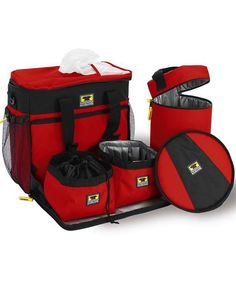 Keep all your pet's travel accessories in one, convenient pack with our Cube Travel Pet Bag. This durable system made by MountainSmith f. Portable Dog Kennels, Pet Organization, Organizing, Pet Bag, 3d Home, Pet Travel, Travel Bags, Animal Design, Travel Accessories