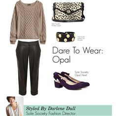 """""""Dare To Wear: Opal"""" by solesociety on Polyvore"""