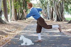 Tintin and Snowy by AlchemyAllStars.deviantart.com on @deviantART