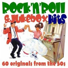 """60 mp3s, just $2.99 via Amazon. Classic """"jukebox hits"""" from the 1950s including Chuck Berry, Little Richard, and Buddy Holly!"""
