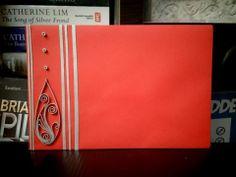 Quilling : Custom quilled envelope