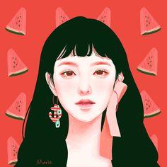 #일러스트 #그림 #그라폴리오 #팬아트 #소녀 #레드벨벳 #빨간맛 #아이린 #마리 #grafolio #fanart #girl #redvelvet #redflavor #irene # #marie #illust #artstagram #digital illust #art #artwork #digital art #painting #digital painting #イラスト