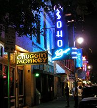 SXSW Music Venue - Soho Lounge -- 217 E. 6th St., Austin, Texas  WE ARE HERE!!! Let the fun begin:)