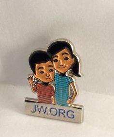 100 JW.org Kids Lapel Pins