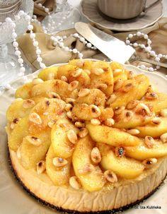 Smaczna Pyza: Sernik z jabłkami