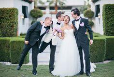 Destination I Do Magazine - A Pretty Palm Springs Wedding // Photo courtesy of Happy Confetti Photography