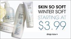 Skin So Soft Winter Soft +Hydroseal Complex w/babassu oil, shea butter & vitamin E. Order@ www.youravon.com/brandyholt