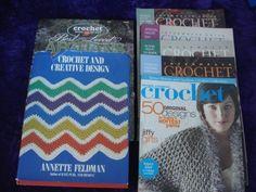 Crochet books and magazines