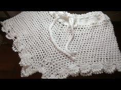 SHORTS DE CROCHÊ PRAIA/VERÃO PASSO A PASSO - YouTube Crochet Pants, Crochet Clothes, Crochet Lace, Crochet Bikini, Short Tejidos, Crochet Videos, Lace Shorts, Crochet Patterns, Stitch