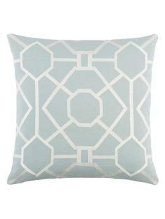 Kingdom Porcelain Pillow by Artistic Weavers at Gilt