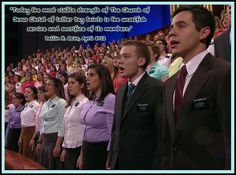 David Archuleta sacrificing to serve as a full time missionary for The Church of Jesus Christ of Latter-Day Saints.