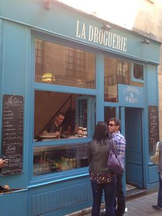 La Droguerie in the Marais District. Nutella crepes again! Nutella Crepes, Paris Itinerary, Paris Travel, Four Square, Marie, Beautiful Places, Europe, Spaces, Food