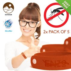 All Natural Mosquito Repellent Bracelets by Enzo  http://yo.urenzo.com/product/all-natural-mosquito-repellent-bracelet-deet-free-material/