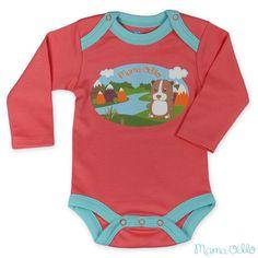 Trendiger, besonders hautverträglicher Babybody aus bio-zertifizierter Pima Baumwolle, kbA. Ökologischer Print mit Meerschweinchen-Motiv. Praktischer Schlupfkragen mit Druckknöpfen an den Schulterpartien für einen optimalen Sitz. Empfohlen von Kinderärzten und Hebammen für Neugeborene und hautsensible Babys.