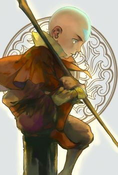 Avatar Aang by 荒川陽光