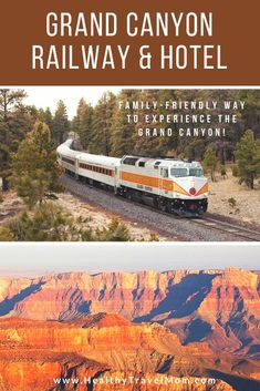 The Grand Canyon Railway and Hotel is a family-friendly way to experience the Grand Canyon! A stay at the Grand Canyon Railway Hotel is the best way for your family to experience the Grand Canyon! Grand Canyon Train, Grand Canyon Hotels, Grand Canyon Vacation, Grand Canyon Railway, Visiting The Grand Canyon, Grand Canyon Arizona, Grand Canyon National Park, Us National Parks, Sedona Arizona