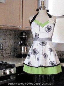 Plus Size Kitchen Apron Pattern