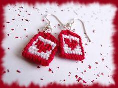 Heart earrings by letax.deviantart.com on @deviantART