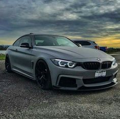 BMW F32 4 series matte grey