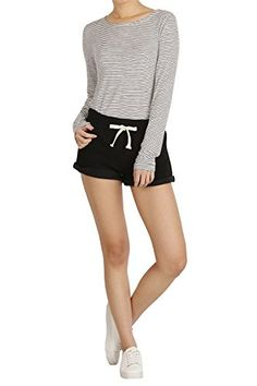 Hipsteration Womens Solid Color Drawstring Shorts Grey, M Hipsteration http://www.amazon.com/dp/B01A84M1TU/ref=cm_sw_r_pi_dp_ry5Kwb1JN5CE6