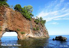 Great & Wonderful Indonesia | Pintu Kota Beach, Ambon, Indonesia