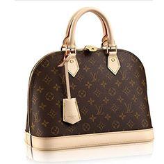 298b1f39c Authentic Louis Vuitton Monogram Canvas Alma PM Tote Handbag Article:M53151  Made in France