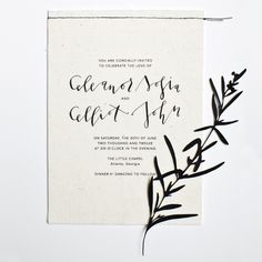 papercuts — Yes Ma'am Paper + Goods Black And White Wedding Invitations, Modern Wedding Invitations, Wedding Stationary, Stationery Paper, Stationery Design, Invitation Design, Wedding Blog, Wedding Suite, Wedding Paper