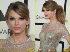 Taylor Swift beauty for the #Grammys