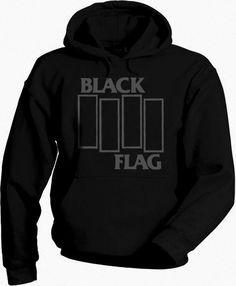 Black Flag - Men Hoodie Sweatshirt ••• Sudadera Negra 24.9€ ✠ #LeviathanCo #tshirt #design #psychobilly #creative #create #clothes #vintage #diseño #lifestyle #rockNroll #pinup #rockabilly #hotrod #tattoos #motocicletas #bikers #camiseta #rider