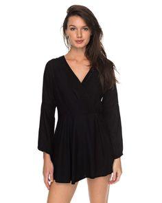 0ec42c9f974f NEW ROXY Womens Twilight Adventure Long Sleeved Romper Womens Summerwear