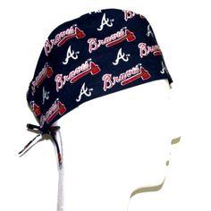 7b61304fc1a53 MLB Atlanta Braves Scrub Hat Scrub Hats