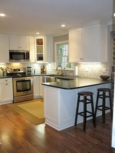 Nice 60 Beautiful Small Kitchen Remodel https://roomadness.com/2017/09/10/60-beautiful-small-kitchen-remodel/