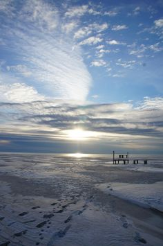 isle of Amrum in Winter - Germany
