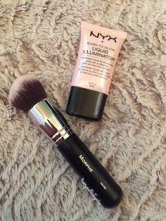 PRETTY & PUT TOGETHER: Glowing Dewy Skin Tips & Tricks- NYX Cosmetics Liquid Illuminator and Morphe Brushes M439